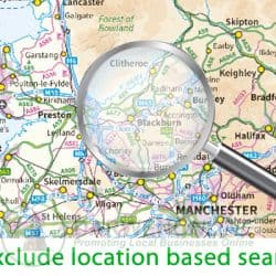 exclude location based results